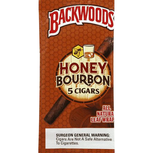 Backwoods ~ Honey Bourbon ~ (5 Zigarren)