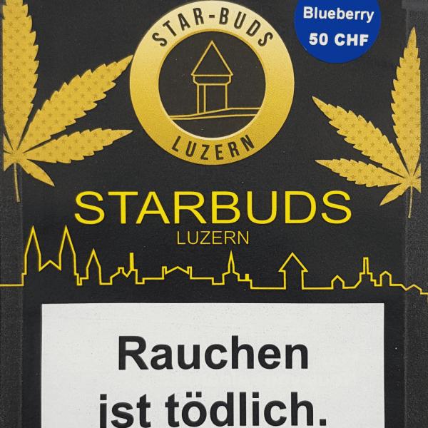 Starbuds Luzern ~ Blueberry ~ 6g