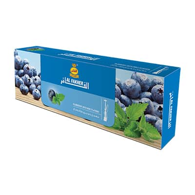Al Fakher ~ Blueberry + Minze ~ (10X50g)