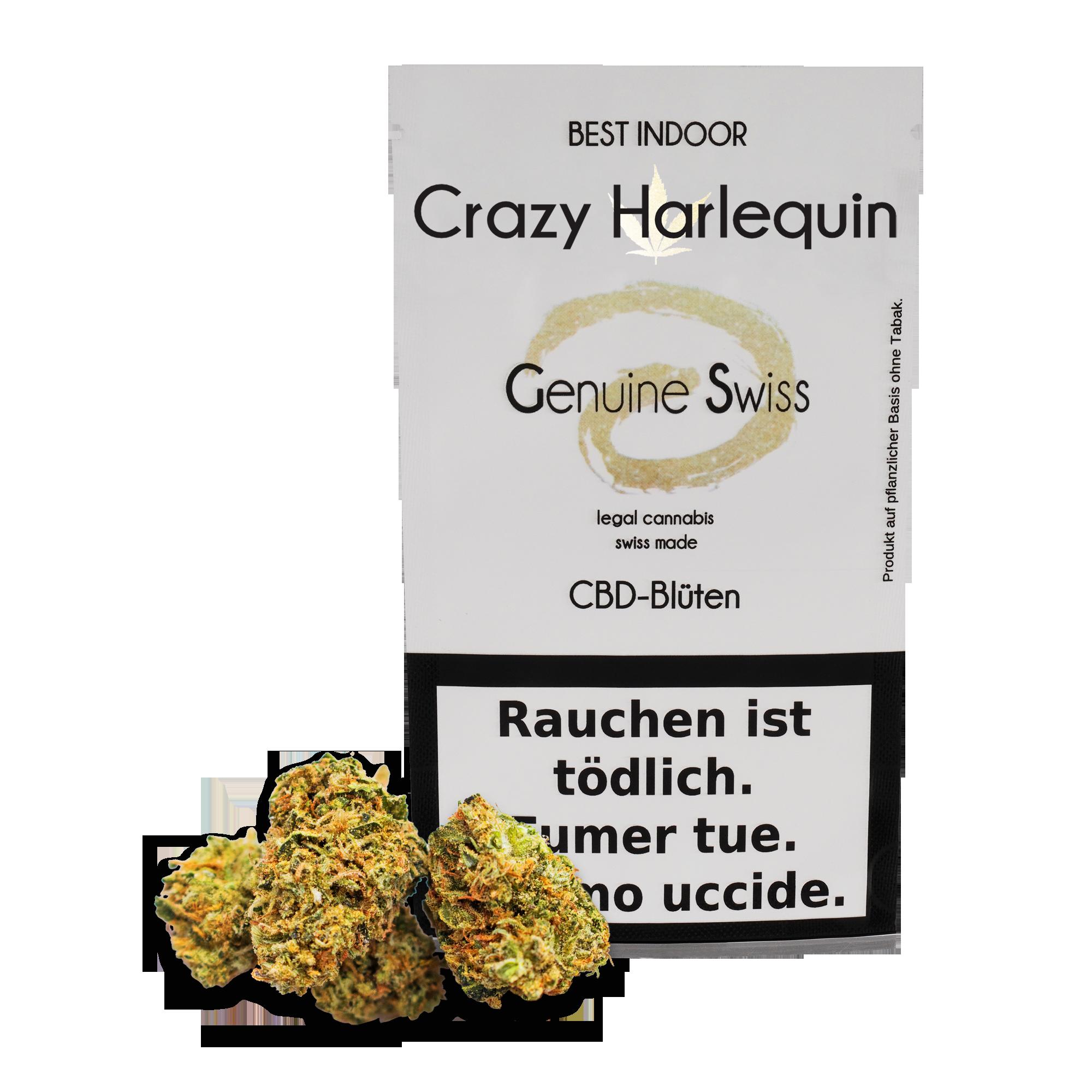 Genuine Swiss ~ Crazy Harlequin ~ 2.5g
