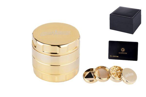 Dreamliner ~ Grinder real gold 24 carat