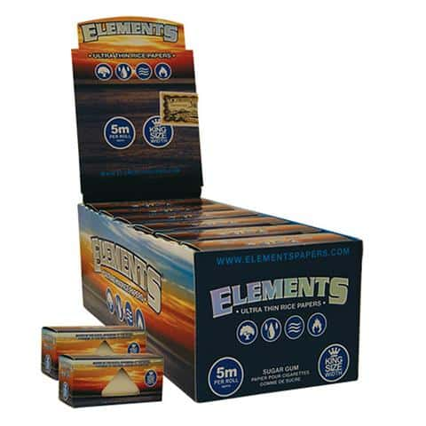 Element ~ King Size Blue (Box 12Stk.)