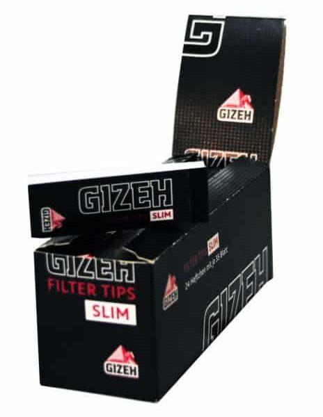 Gizeh ~ Filter Tips Slim (Box 24Stk.)