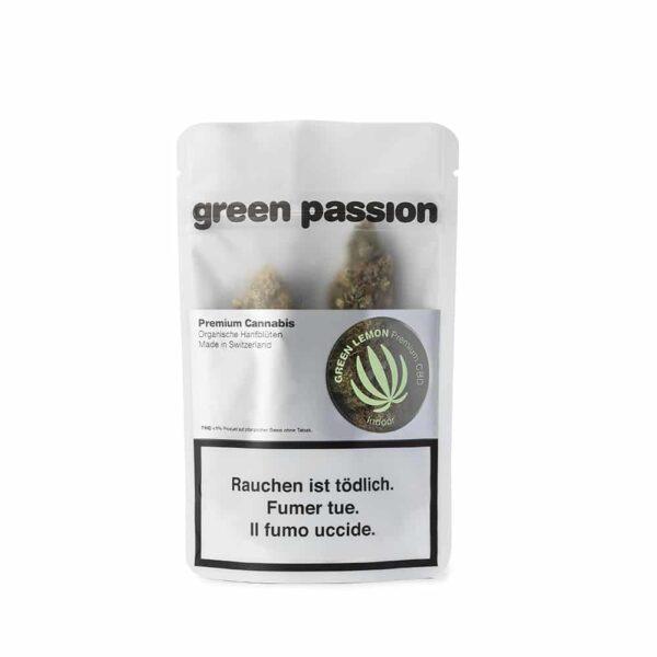 Green Passion ~ Green Lemon (Indoor) ~ 5g