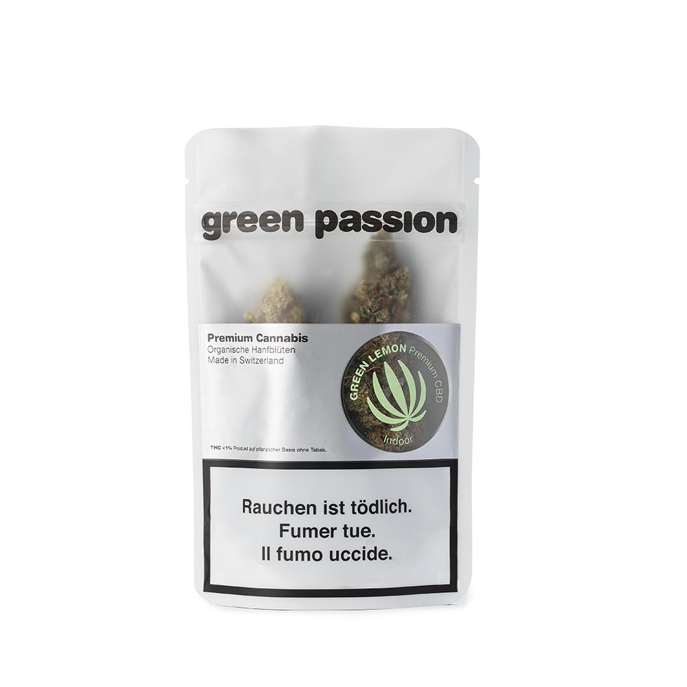 Green Passion ~ Green Lemon (Indoor) ~ 2g