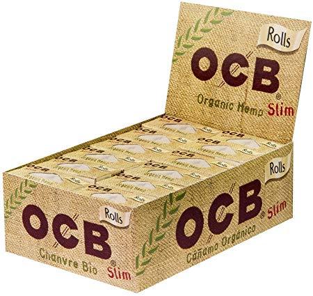 OCB ~ Rolls Organic Hemp ~ (Box 24Stk.)