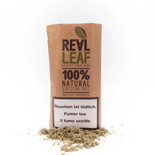 Real Leaf ~ Classic nikotinfreier Tabakersatz ~ 30g