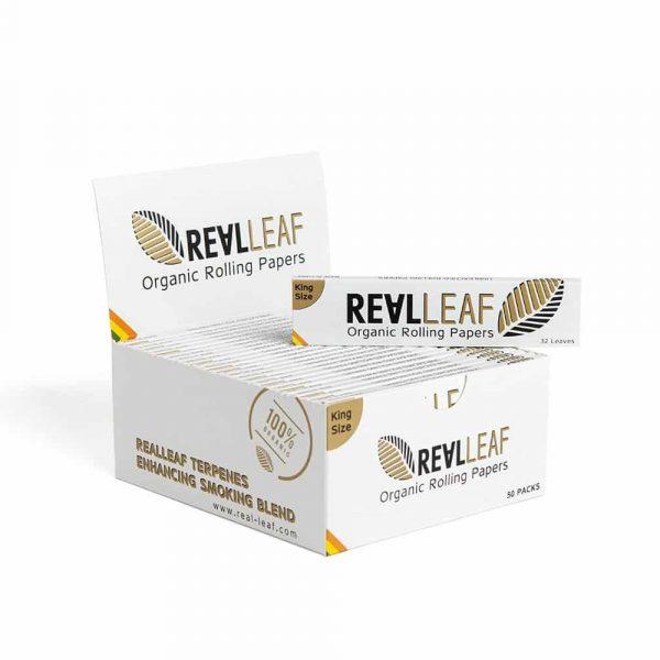 Real Leaf ~ Organic KingSize (Box 50Stk.)