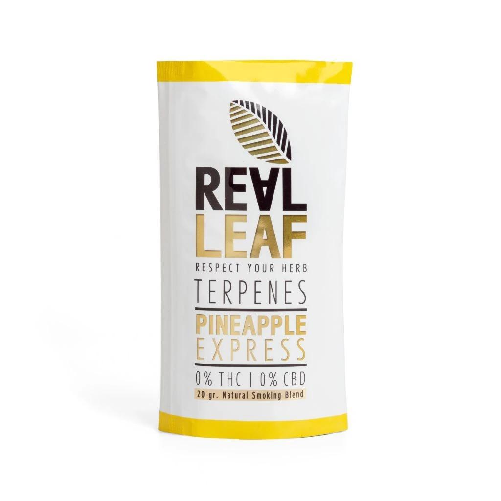 Real Leaf ~ Pineapple-Express nikotinfreier Tabakersatz ~ 20g