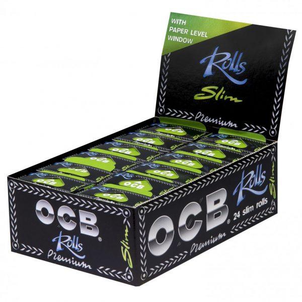 OCB ~ Rolls Premium Slim ~ (Box 24Stk.)