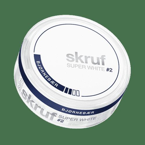 Skruf ~ Super White Blackberry ~ 17.3g