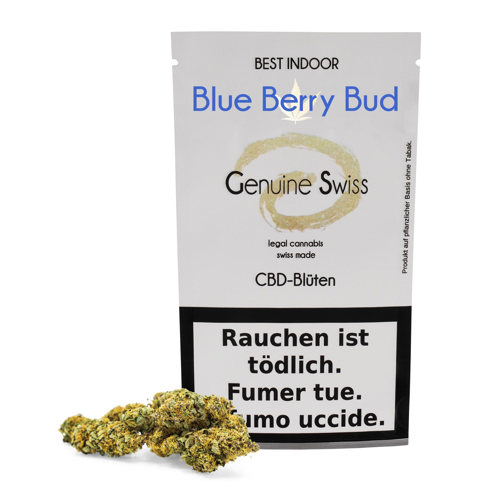 Genuine Swiss ~ Blueberry Bud ~ 2.5g