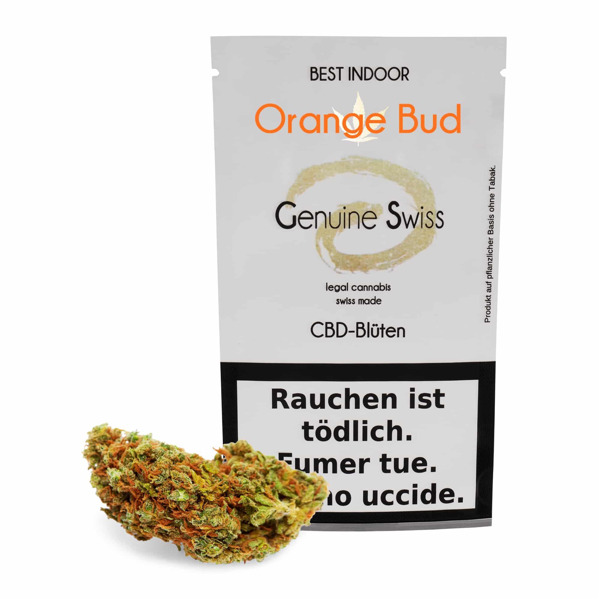 Genuine Swiss ~ Orange Bud ~ 2.5g