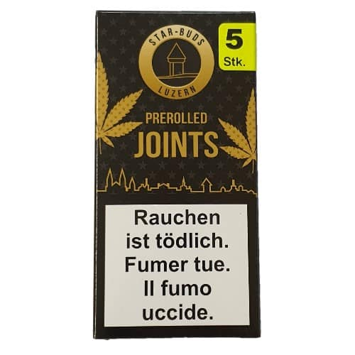 Starbuds Luzern ~ Pre-Rolled (alle Sorten) (5Stk.)