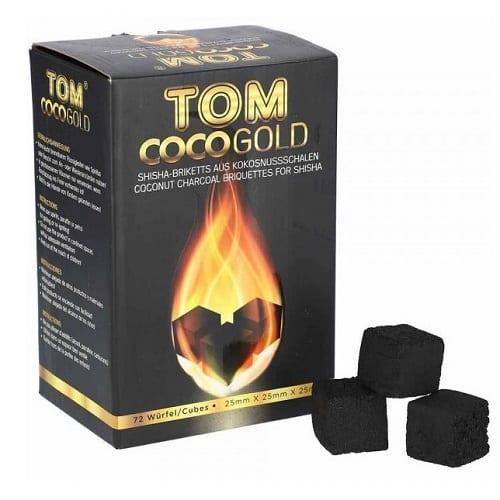 Tom Cococha Gold ~ Shishakohle ~ 1Kg