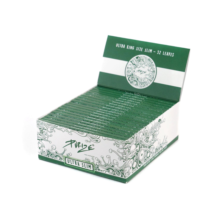 PURIZE® ~ Papiers bruns ~ KingSize Ultra Slim (Boîte de 40pcs.)