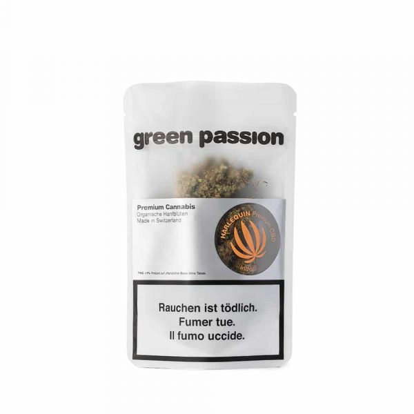 Green Passion ~ Harlequin (Indoor) ~ 5g