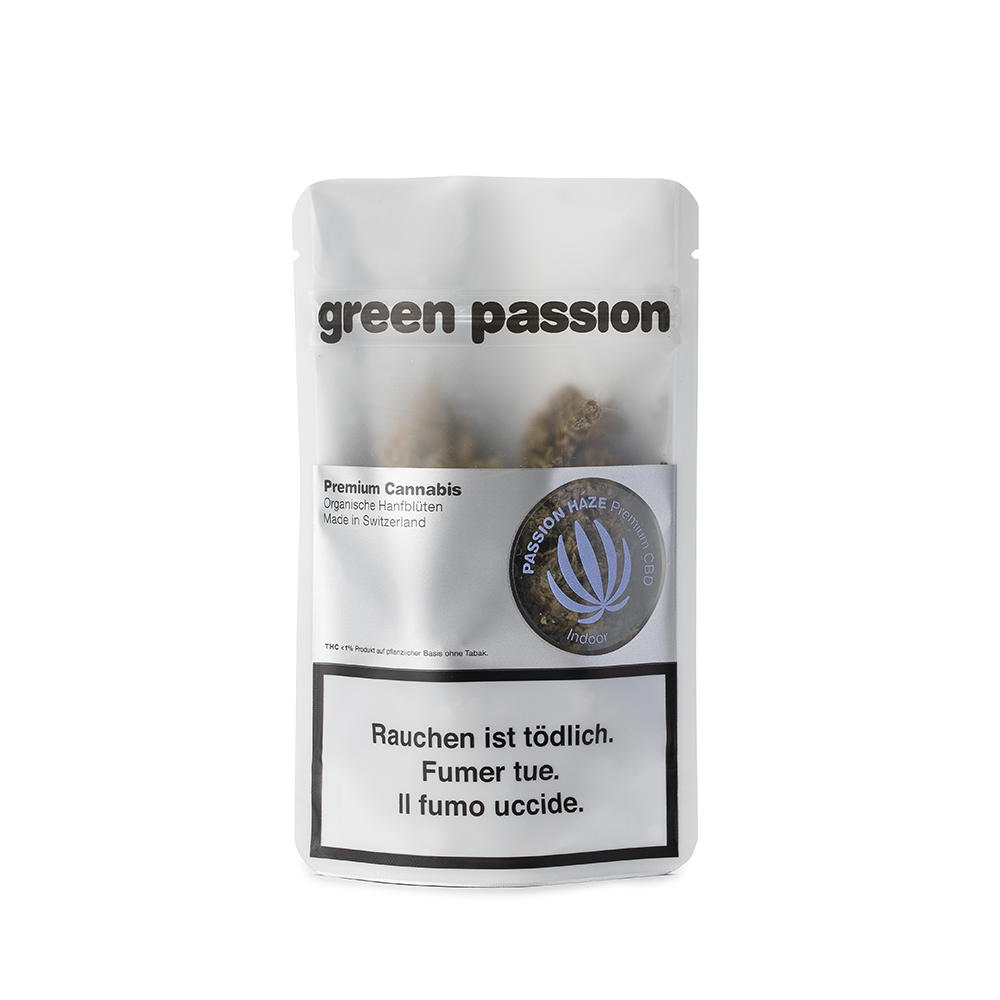 Green Passion ~ Passion Haze (Indoor) ~ 2g