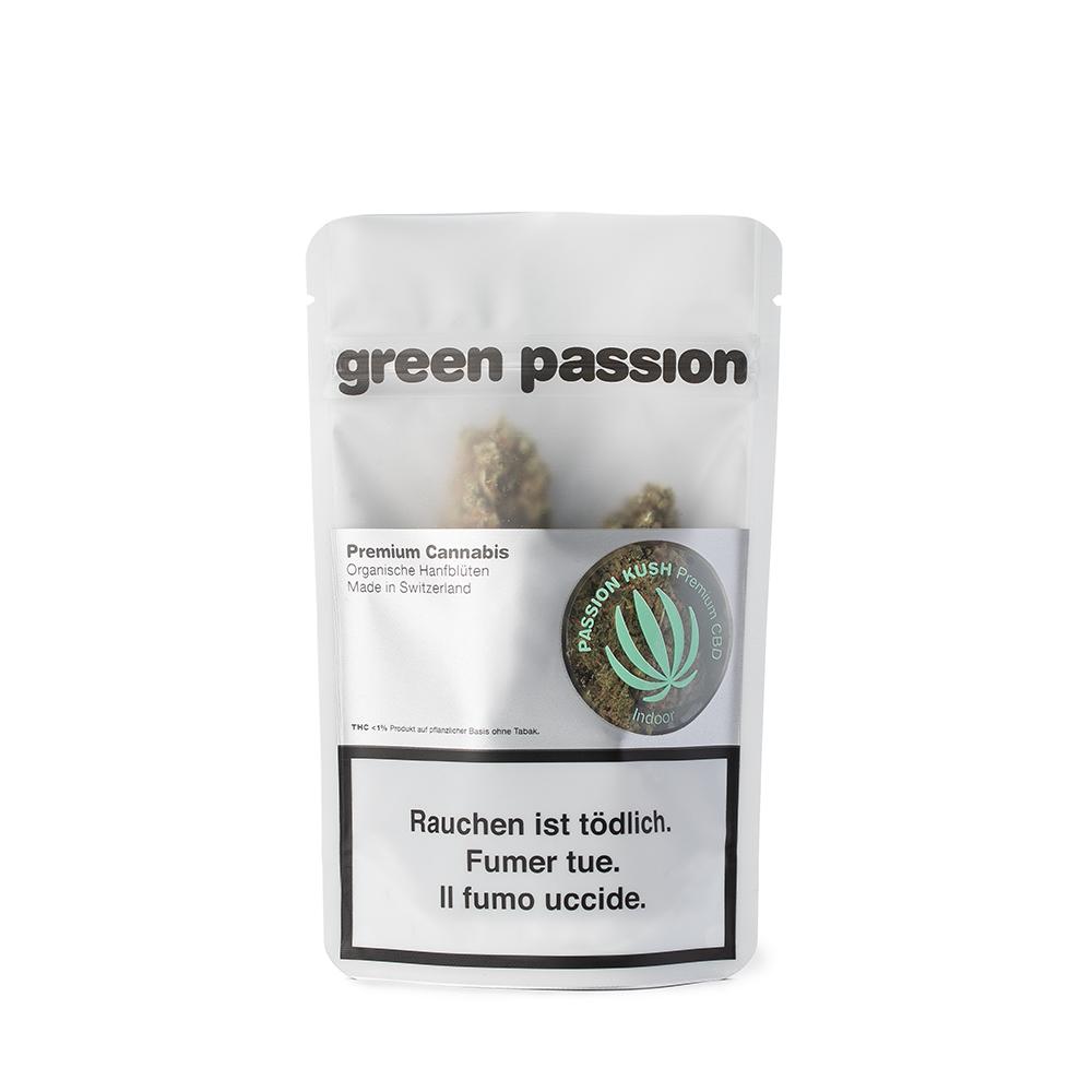 Green Passion ~ Passion Kush (Indoor) ~ 2g