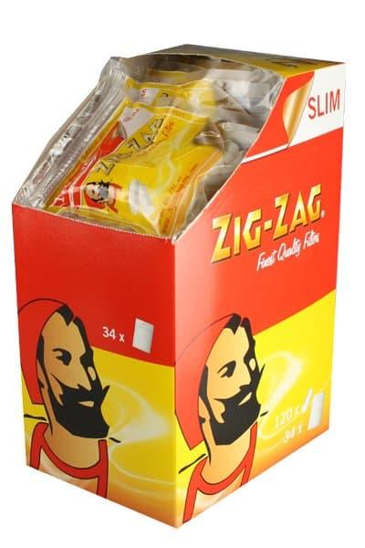 Zig-Zag ~ Slim Filter (Box 34Stk.)