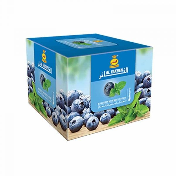 Al Fakher ~ Blueberry + Mint ~ 250g