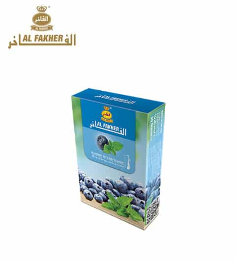 Al Fakher ~ Blueberry + Minze ~ 50g