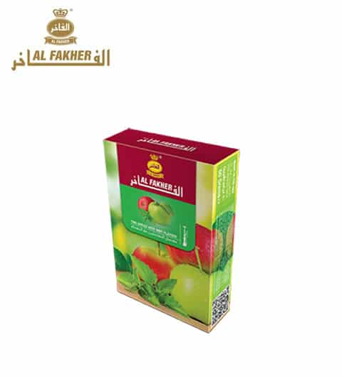 Al Fakher ~ Doppelapfel + Minze ~ 50g