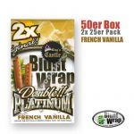 Blunt Wrap Platinum ~ French Vanilla ~ (Box 25Stk.)
