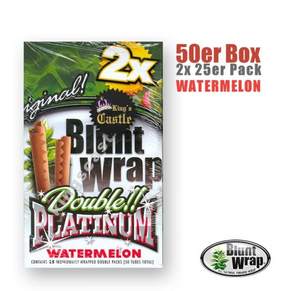 Blunt Wrap Platinum ~ Watermelon ~ (Box 25Stk.)