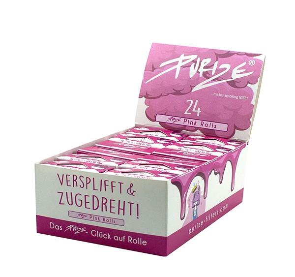 PURIZE® ~ Pink Rolls (Box 24Stk.)