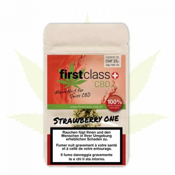 First Class ~ Strawberry One ~ 2g