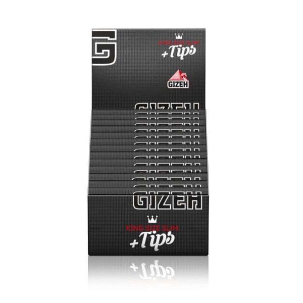 Gizeh ~ King Size Slim + Tips (Box 26Stk.)