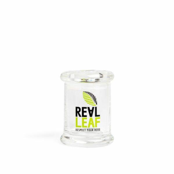 Real Leaf ~ Luftdichter Glasbehälter