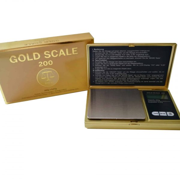 Gold Scale ~ Digitalwaage 200g / 0.01g