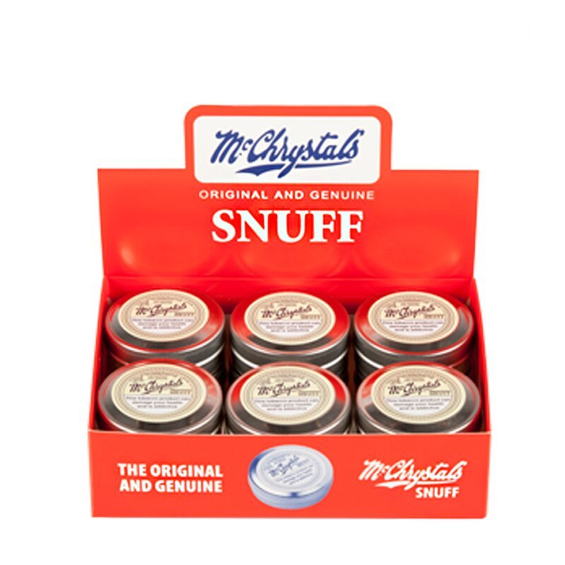 Mc.Chrystal's ~ Snuff (12x8.75g)