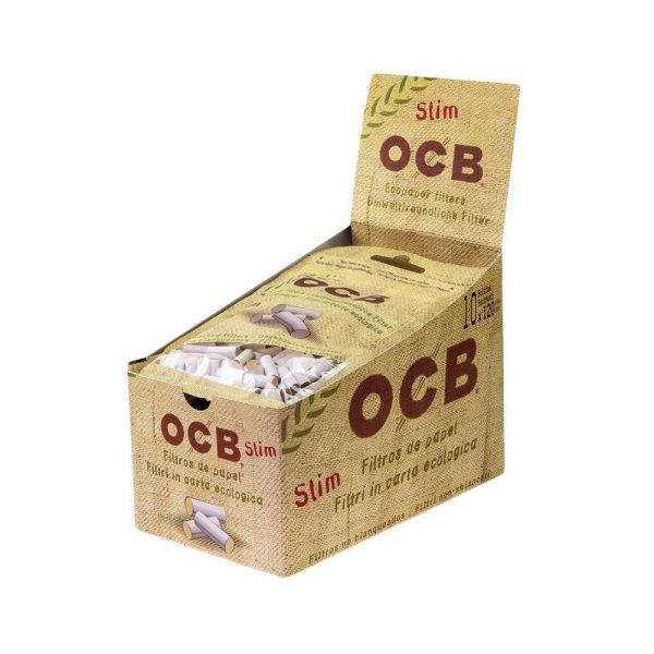 OCB ~ Filter Bio Slim ~ (Box 10Stk.)