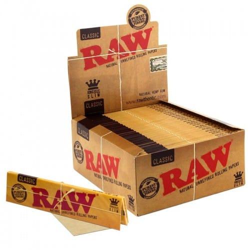 Raw ~ Classic King Size Slim (Box 50Stk.)