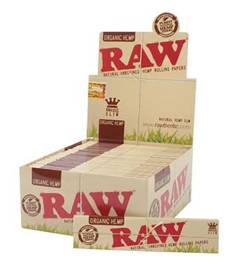 Raw ~ Organic King Size Slim (Box 50Stk.)