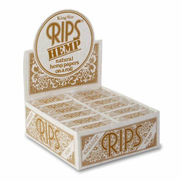 Rips ~ Hemp KingSize (Box 24Stk.)