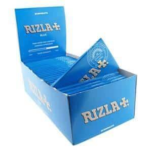 Rizla ~ Papiere Blue (Box 25Stk.)