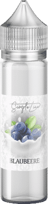Simple Line ~ Blaubeere ~ (40ml in 60ml Behälter)