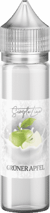 Simple Line ~ Grüner Apfel ~ (40ml in 60ml Behälter)