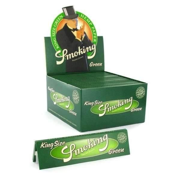 Smoking ~ Green KingSize (Box 50Stk.)