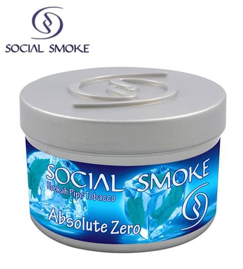 Social Smoke ~ Absolute Zero ~ 250g
