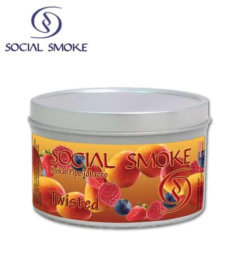 Social Smoke ~ Twisted ~ 100g