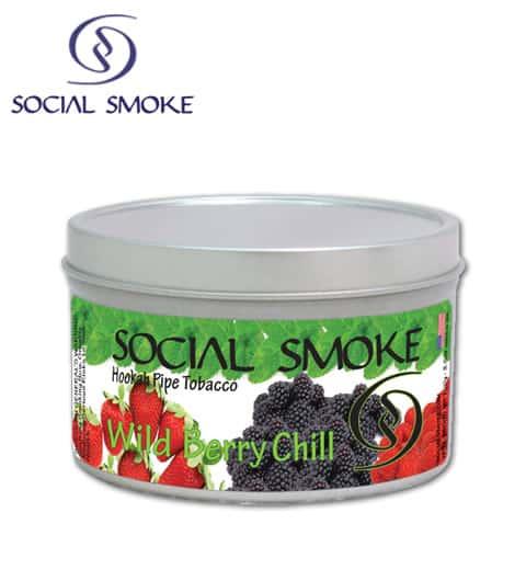 Social Smoke ~ Wild Berry Chill ~ 100g