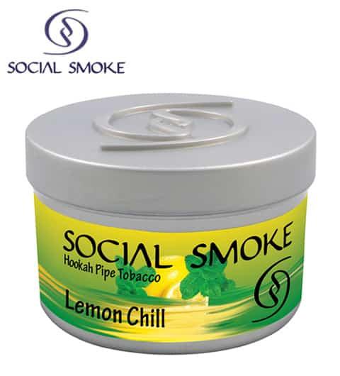 Social Smoke ~ Lemon Chill ~ 250g