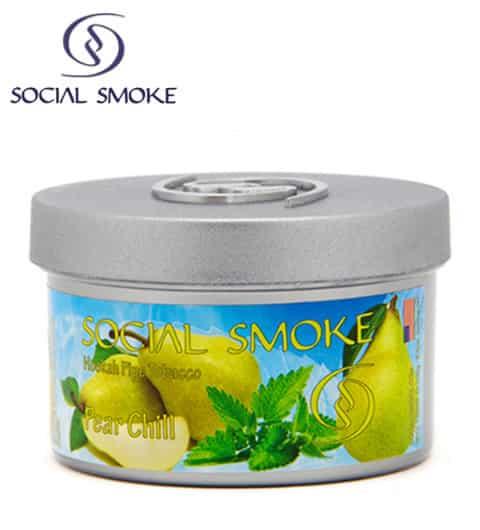 Social Smoke ~ Pear Chill ~ 250g