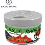 Social Smoke ~ Wild Berry Chill ~ 250g