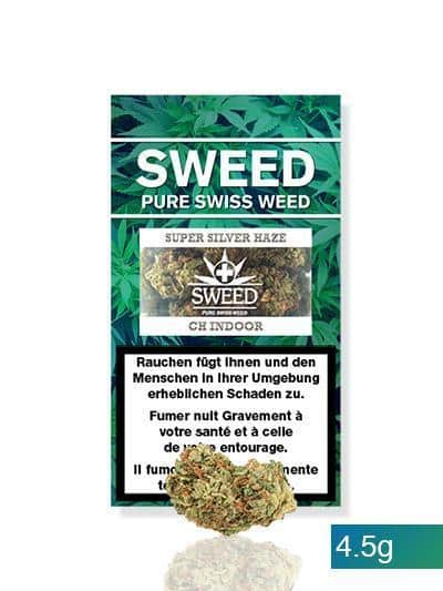 Sweed ~ Super Silver Haze ~ 4.5g